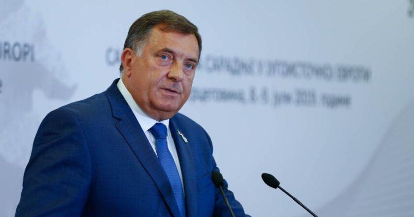"""(VIDEO)Pogledajte sukob između Dodika i novinara BN televizije: """"Osobno vas upozoravam da je ovo zadnji put …"""""""