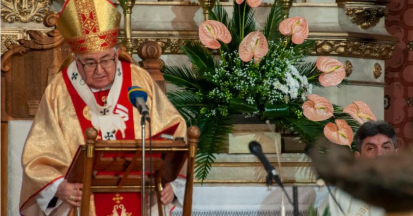 Uskrsna misa u sarajevskoj katedrali