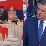 (VIDEO) URNEBES! PORFIRIJE ISMIJAO DODIKA! Dvorana vrištala od smijeha, a Dodik od srama: 'Kako da te zovem predsjedniče, kad nisi predsjednik ničega?'