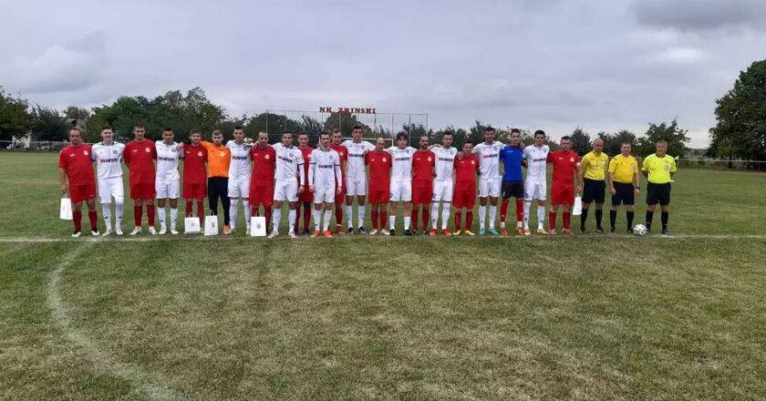 Široki visoko pobijedio hrvatskog niželigaša NK Zrinski Drenje u revijalnoj utakmici