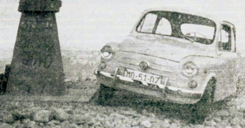 NESVAKIDAŠNJA FOTOGRAFIJA: FIĆO NA PLOČNOM 1966.GODINE